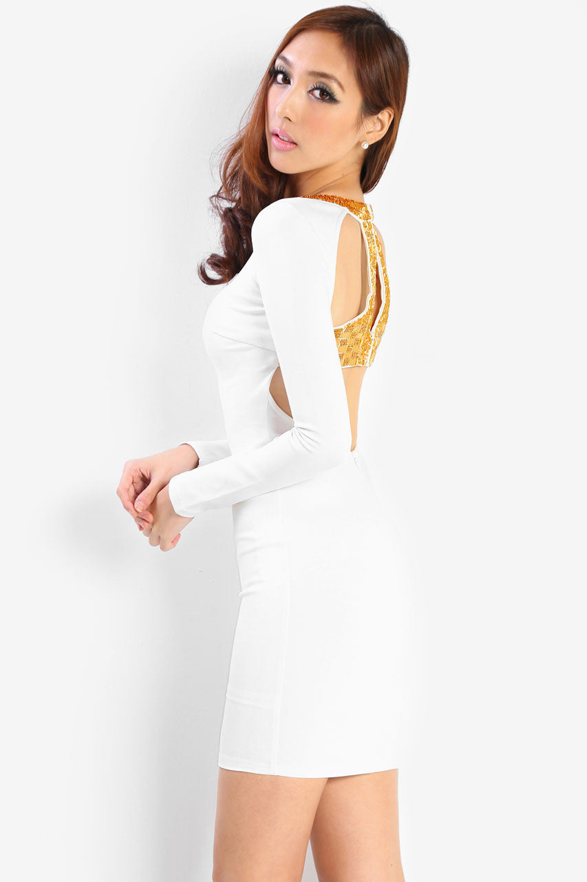 Bartolome Gold Dress