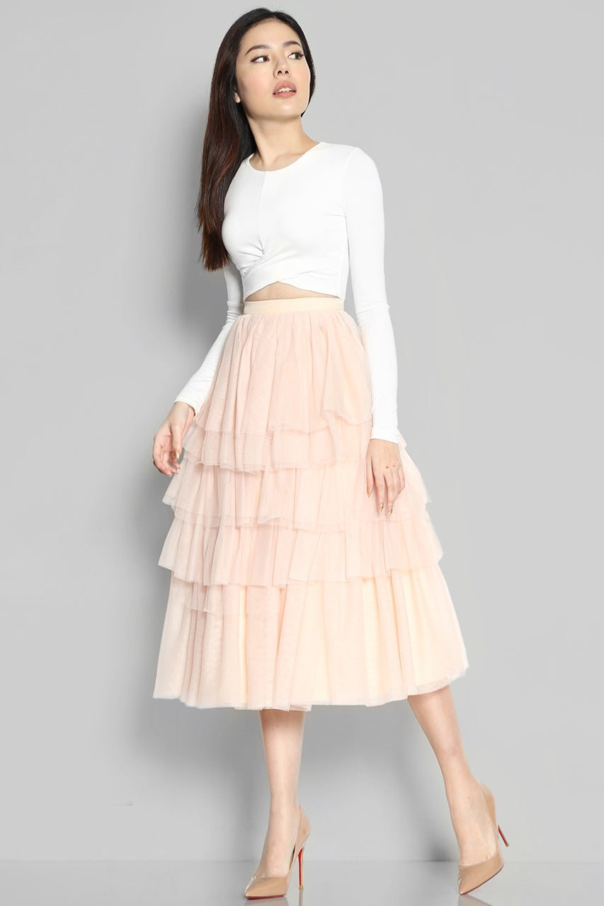 (SALE) Arista Tulle Skirt