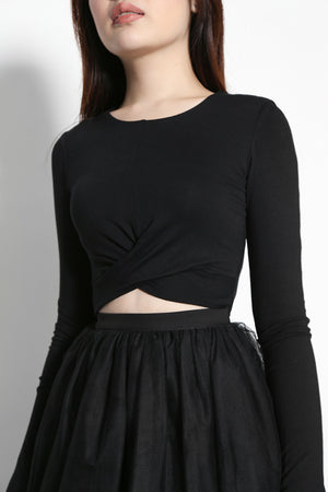 (SALE) Waverly Cross top