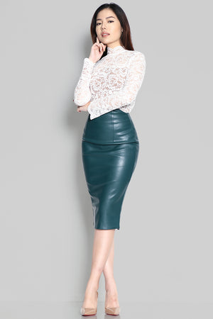 Quintessa Leather Skirt (Pre-order)