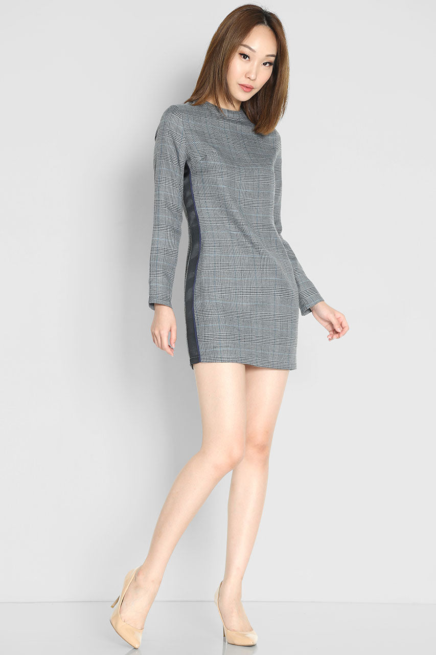 Venezia Checks Shift Dress
