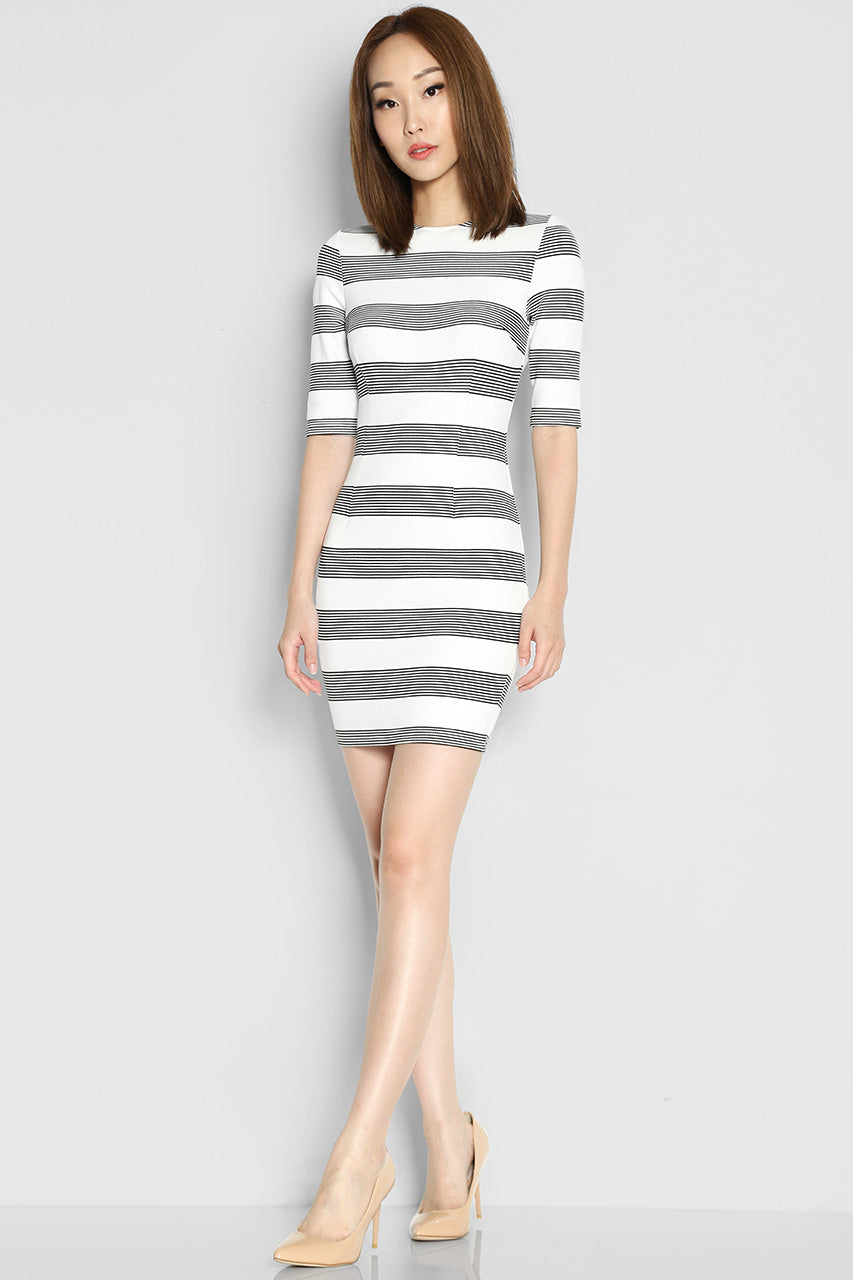 Erika Stripes Dress