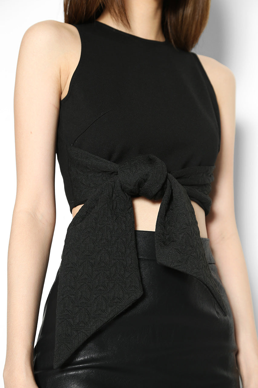 Piper Tie-Waist Cropped Top