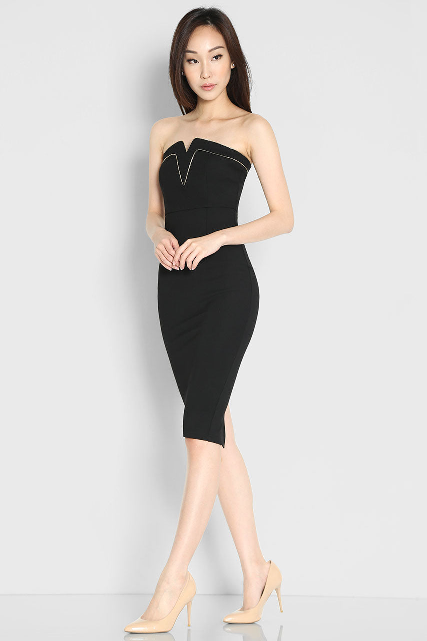 Oliviera Bandeau Dress