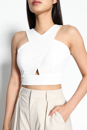 Violet Ophelia Crop Top