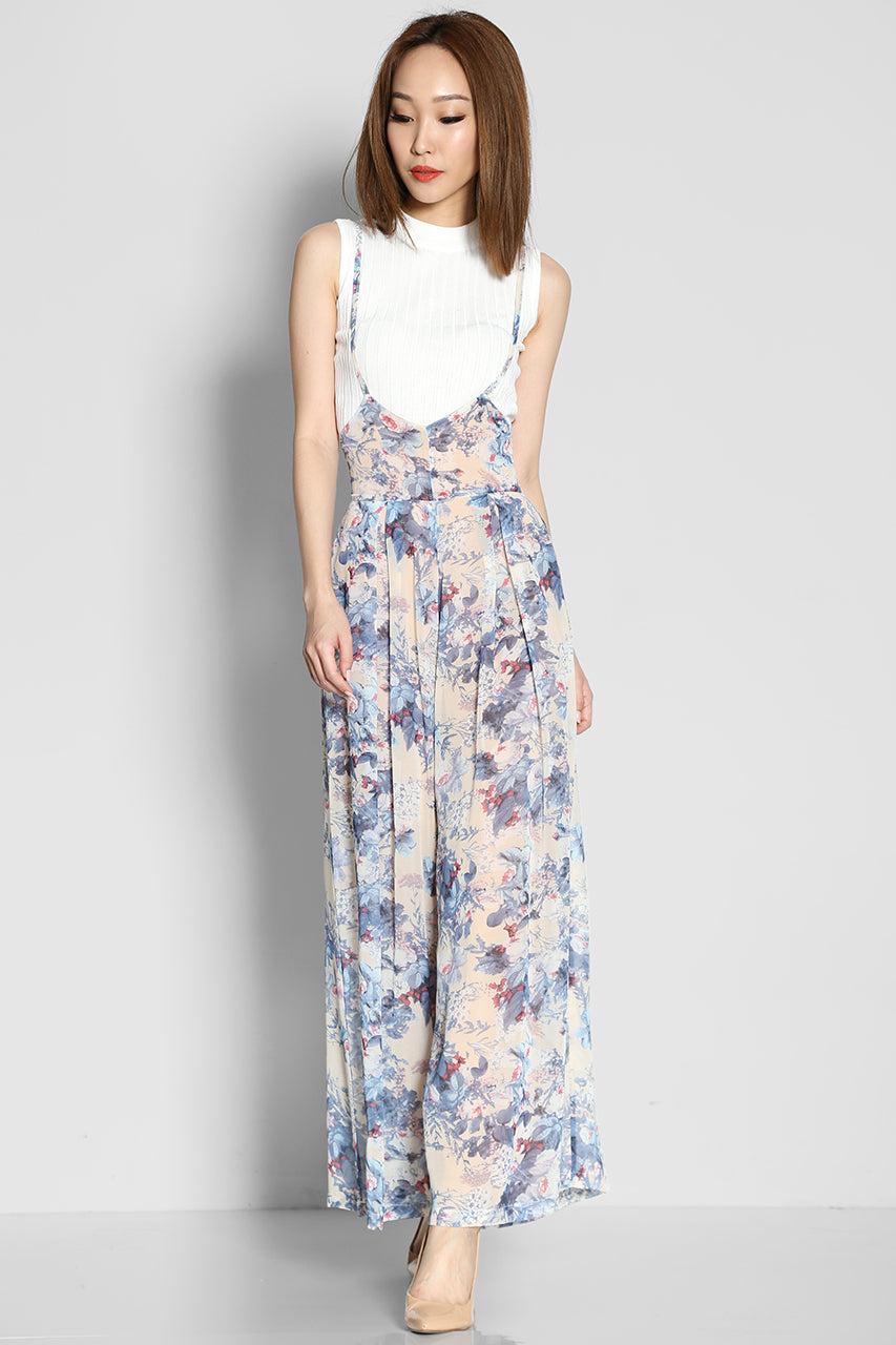 (SALE) Audrey Wood Jumpsuit