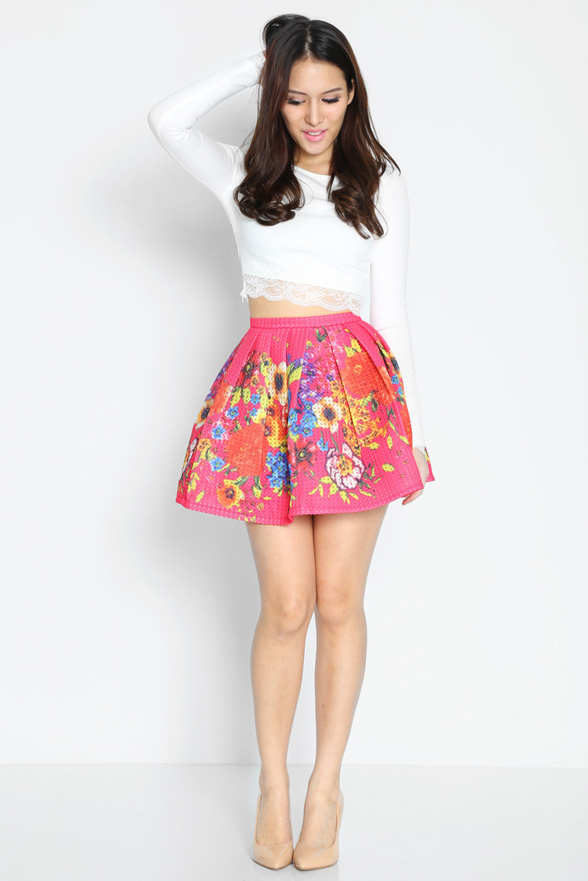 (SALE) Rochelle Air Skirt