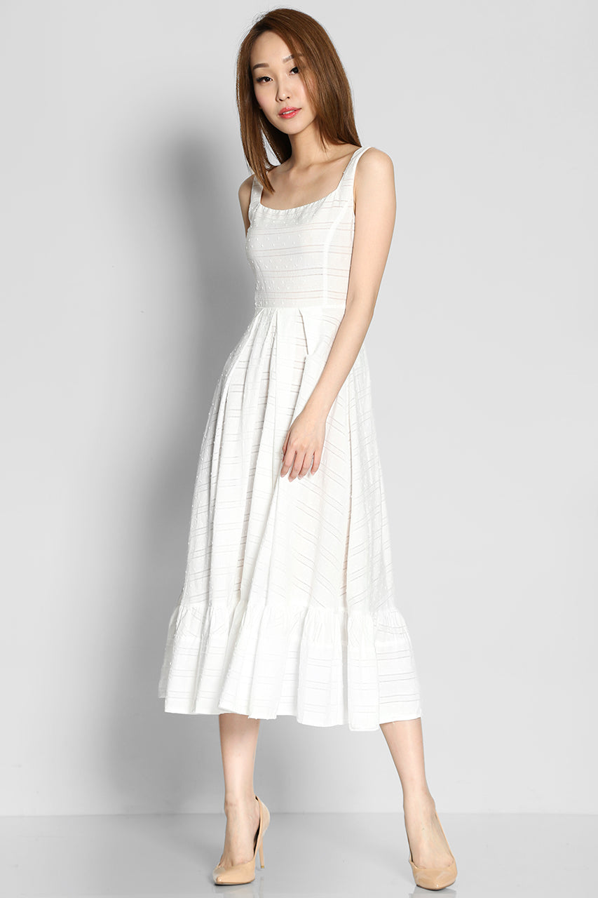 Fairylithe Blanc Dress
