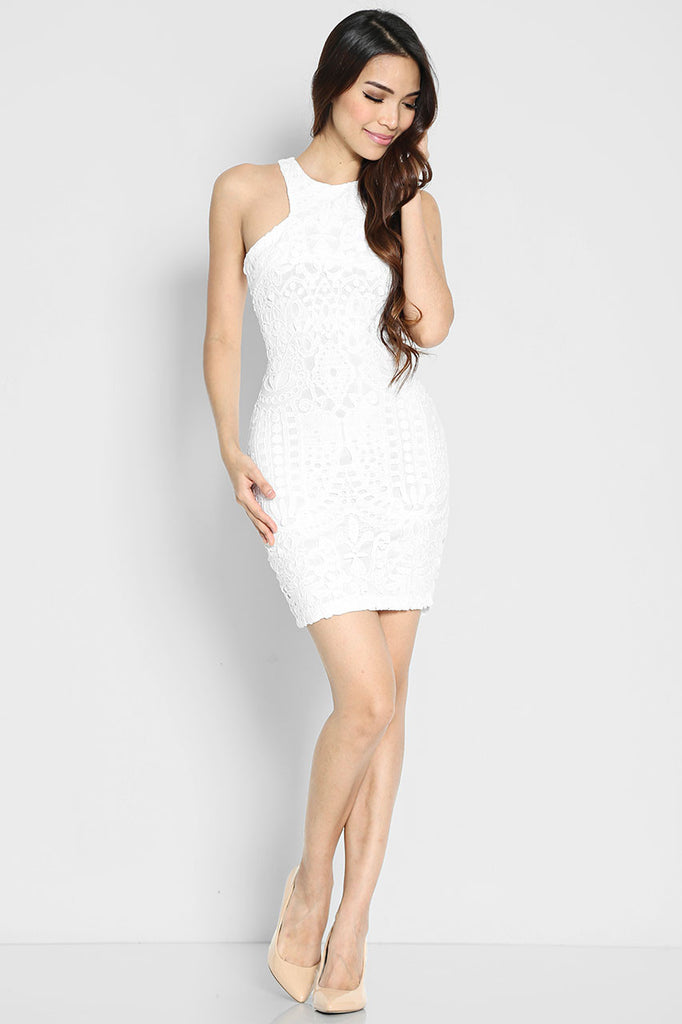 Isidoro Eyelet Dress