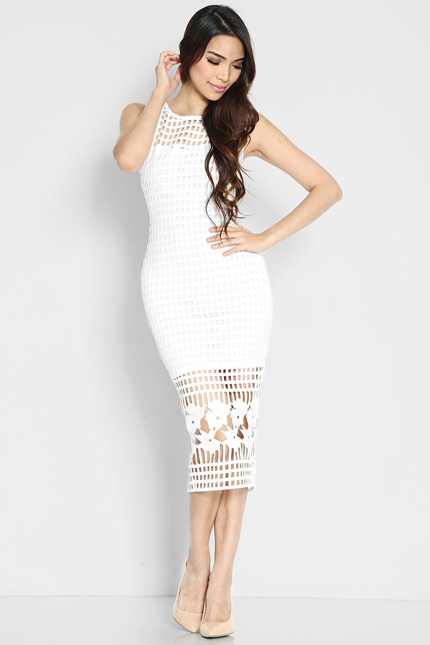 (SALE) Blanche Eyelet Dress