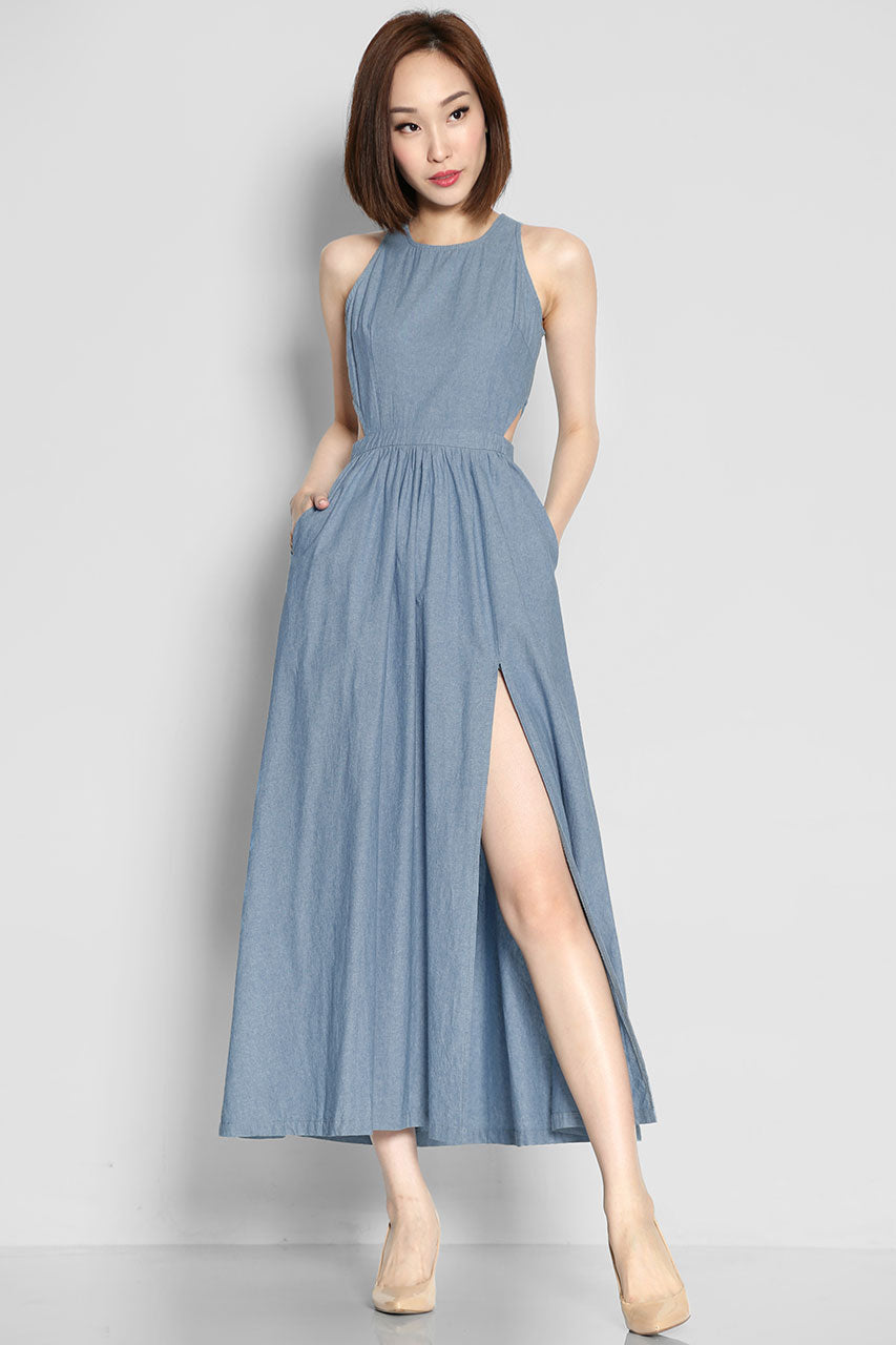 (SALE) Callahan Fox Denim Maxi