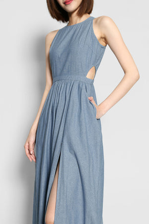 Callahan Fox Denim Maxi