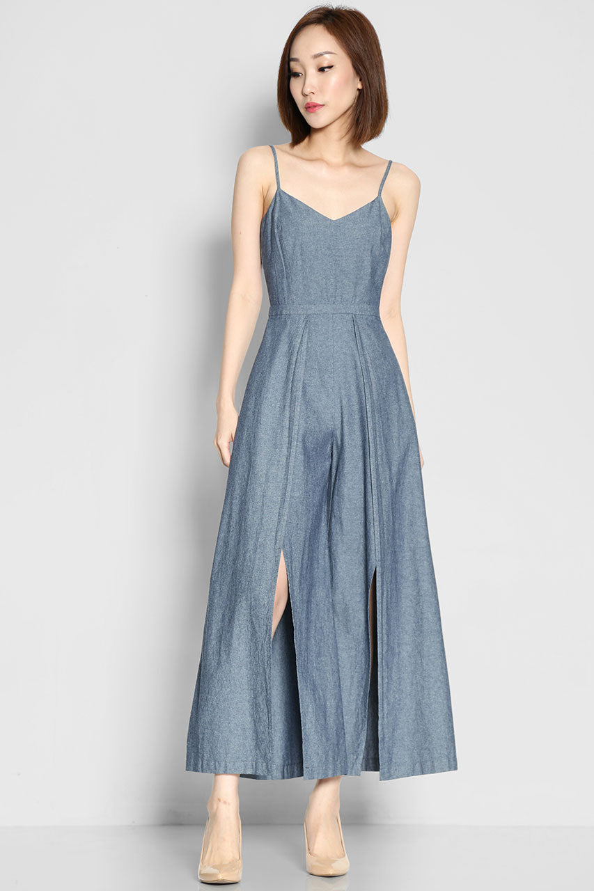 (SALE) Cohen Wilder Denim Jumpsuit
