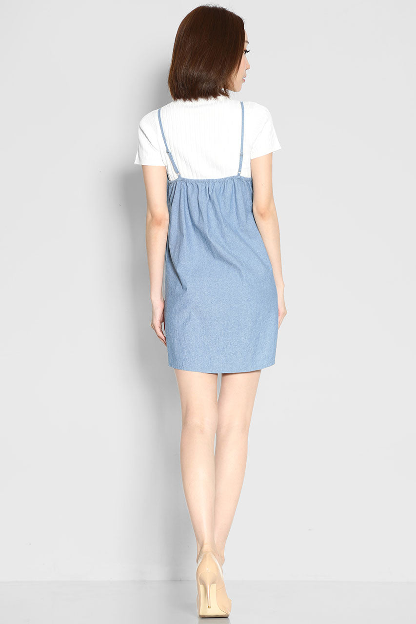 Lil Ryleigh Denim Dress