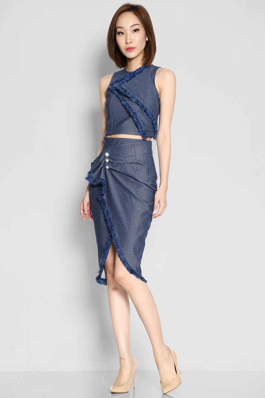 Tyler Montgomery Denim Skirt