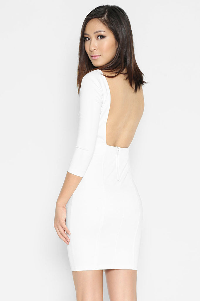 (SALE) Henrietta Bare Back Dress