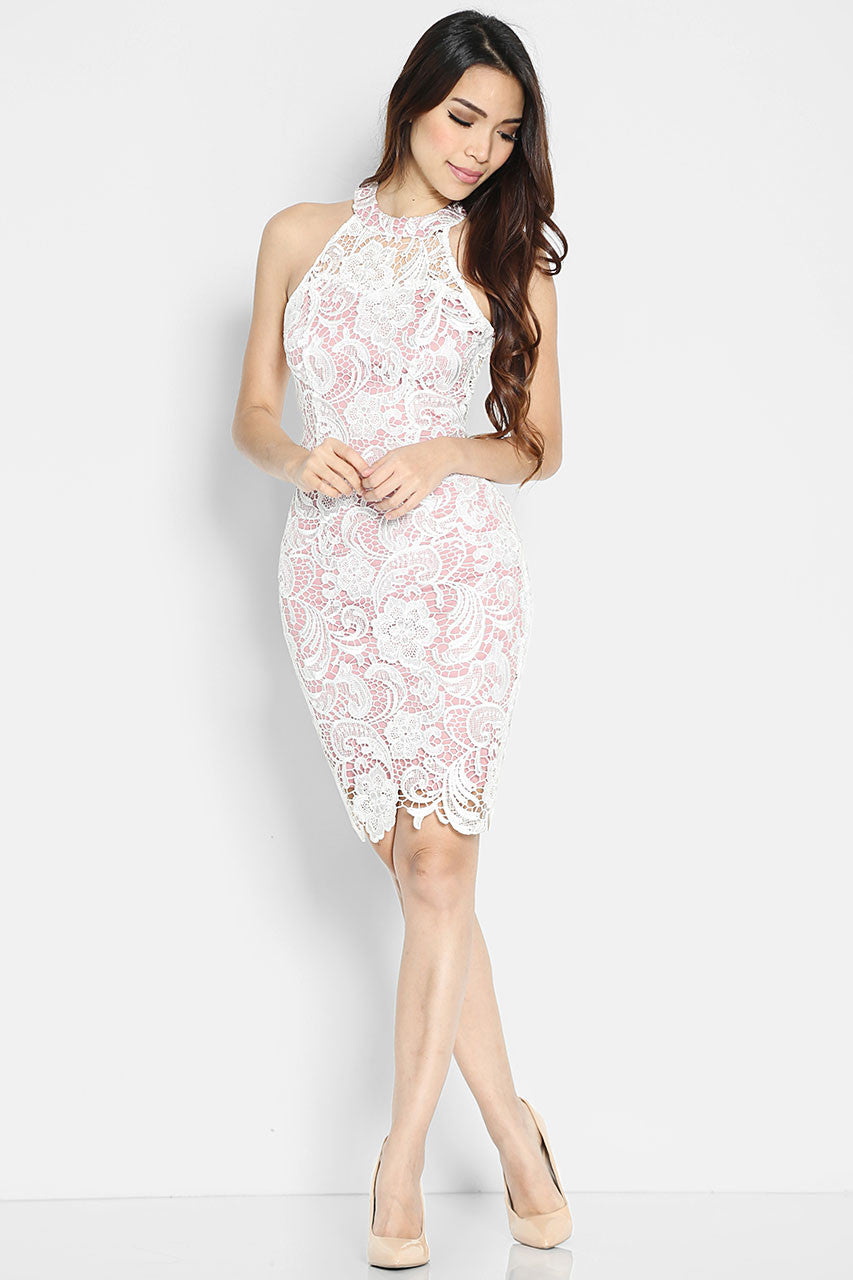Blush Bareback Dress