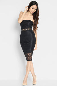 (SALE) Albertina Bandeau Dress