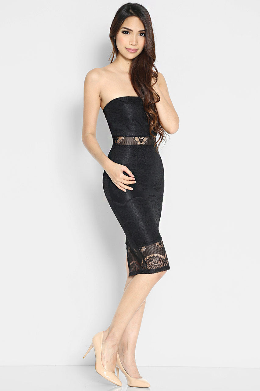 Albertina Bandeau Dress