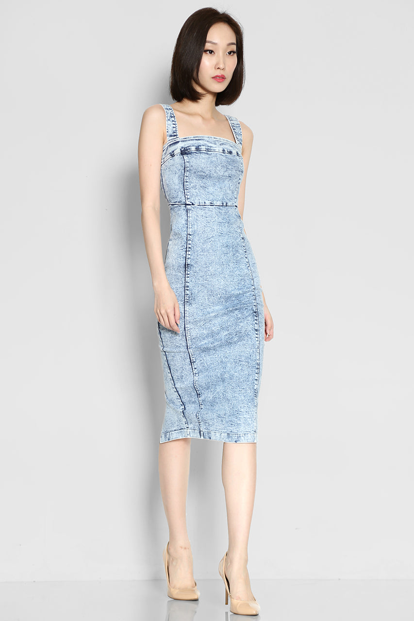 Lanier Alessandro Denim Dress