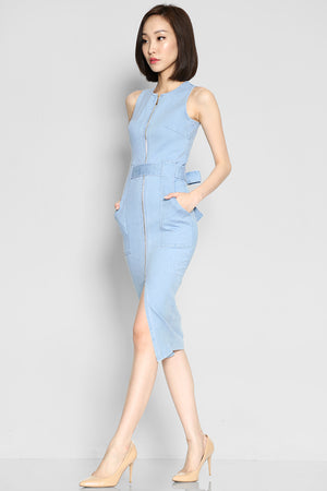 Oliver Hudson Denim Dress