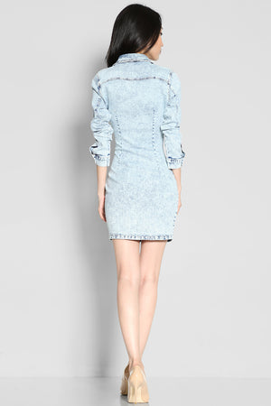Angelique Denim Dress