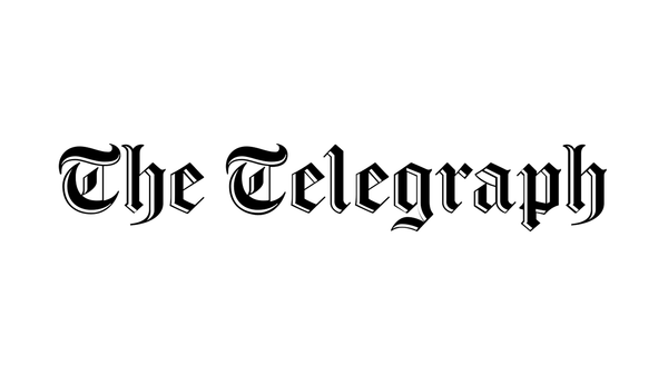 The Telegraph Logo | Triumph & Disaster Press