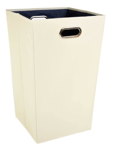 Plain Blue Laundry Hamper