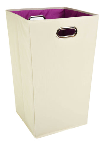 Plain Pink Laundry Hamper