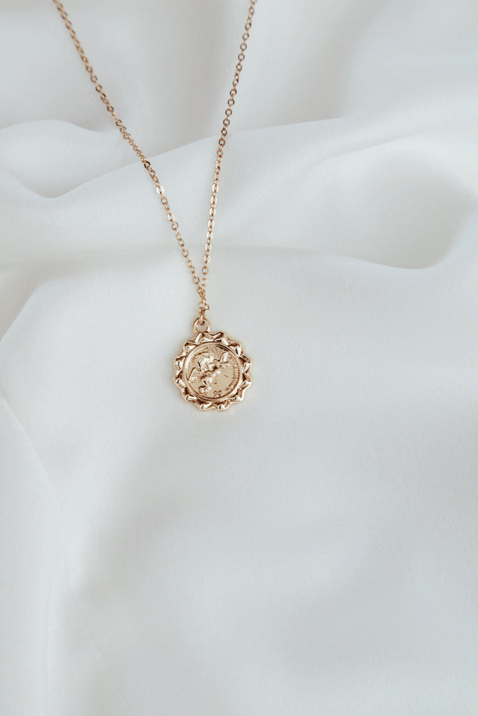 Noemi Necklace (two faced pendant)