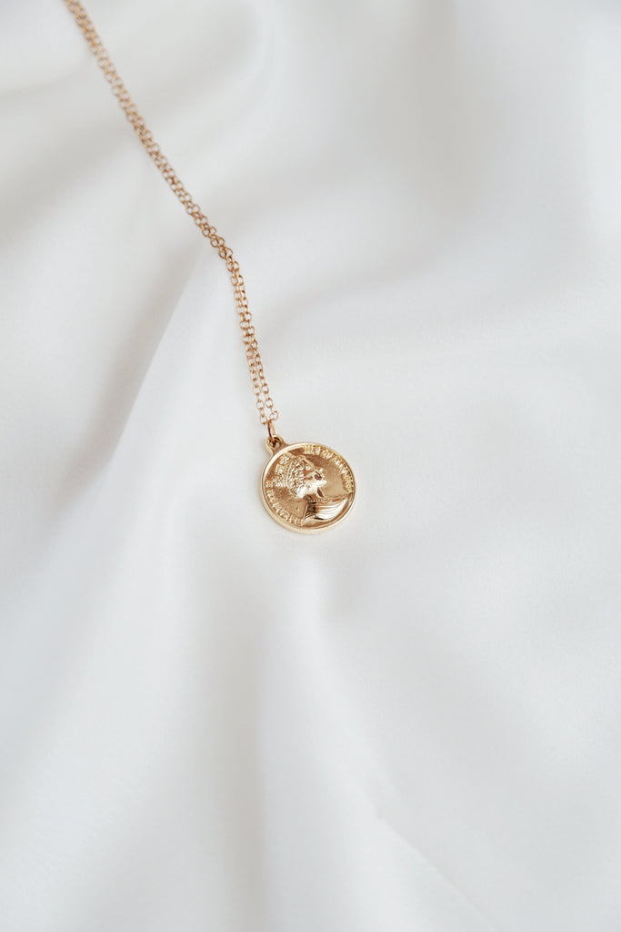 Jessi Necklace (two faced pendant)
