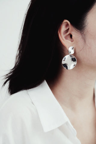 Ferra Earrings (Silver)