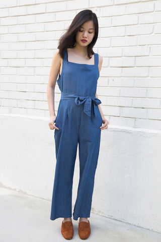 Denim Jumpsuit - WAITLIST