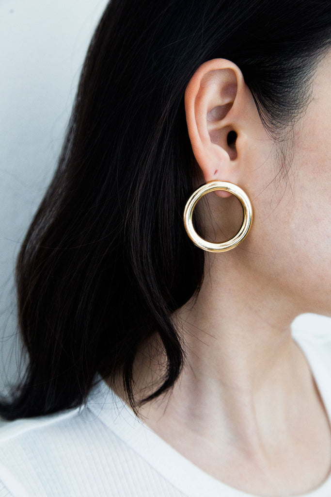Jo Circle Earrings