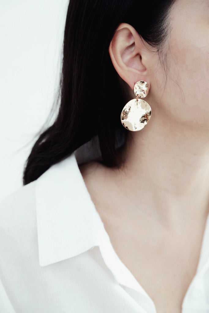 Ferra Earrings (Gold)
