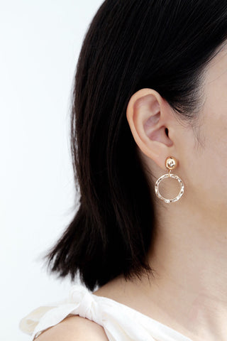 Mia Circle Earrings