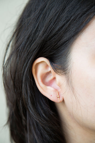 Bar Studs. It's the little things in life that counts, these little studs would be your new precious. With a minimalistic versatility, they can be easily rocked from day to night.