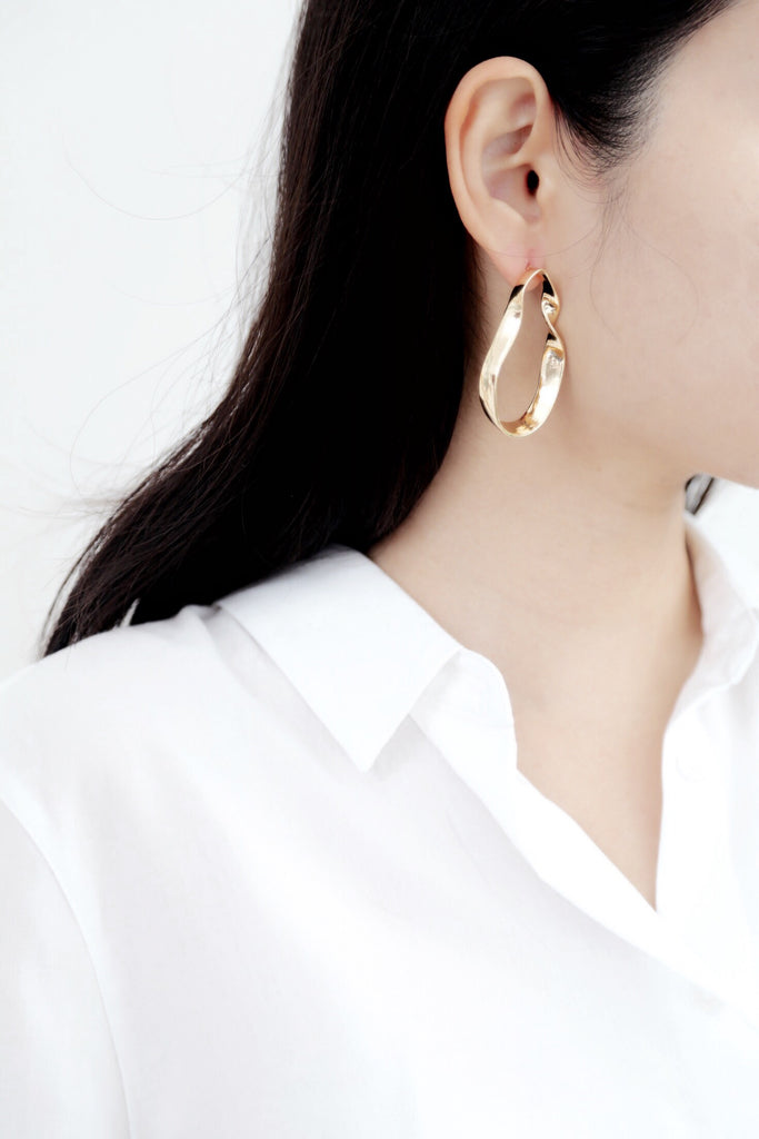 Pea Earrings (Gold)