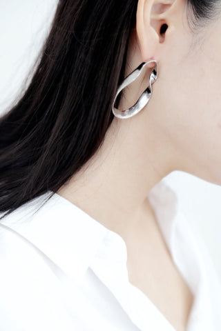 Pea Earrings (Silver)