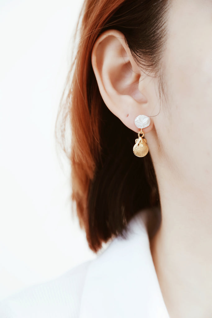 Sally Seashell Earrings
