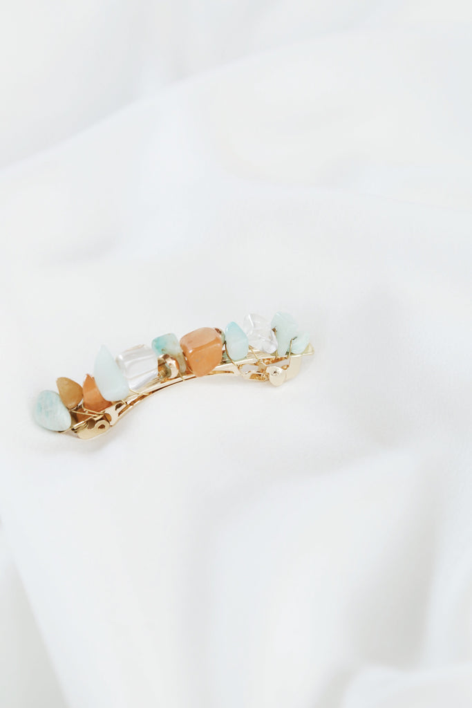 Candy Barrette (Mint Combo)