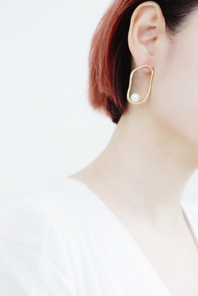 Del Pearl Earrings