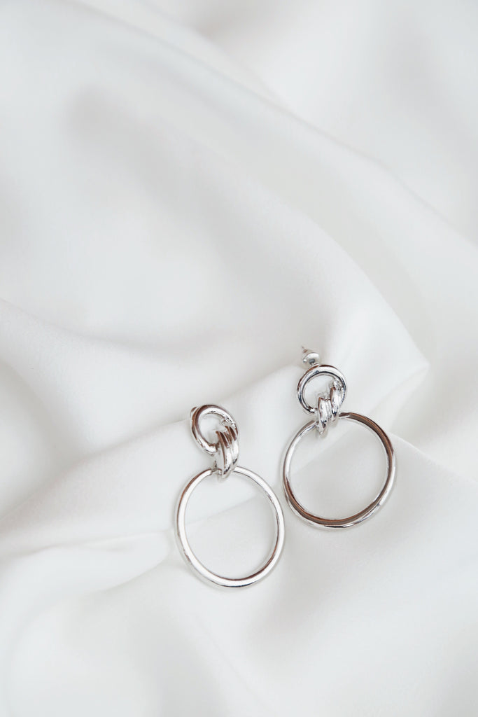 Lanette Earrings (Silver)