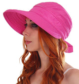 Cotton UV Sun Protection 2 in 1 Removable Visor Hat