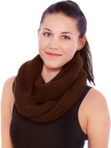 Men/Women Knit Infinity Scarf