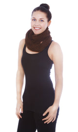 Winter Knitted Infinity Scarf