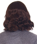 Jesus Brown Full Wavy Wig With Beard Set and Free Wig Cap