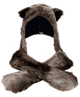 3-in-1 Multi-Functional Animal Hat, Scarf, Mitten Combo