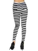 B&W Striped Leggings