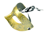 Retro Masquerade Metallic Mask